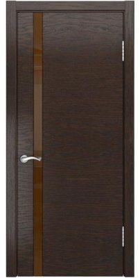 Межкомнатная дверь АРТ-3 мореный дуб ПО