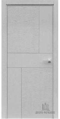 Межкомнатная дверь FUSION art line, chiaro patina argento 9003