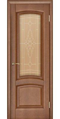 Межкомнатная дверь ЛАУРА тёмный анегри ПО