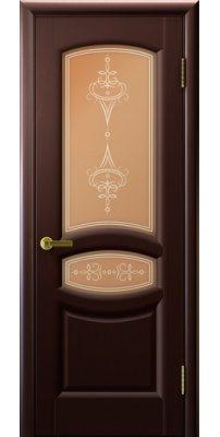 Межкомнатная дверь АНАСТАСИЯ венге ПО