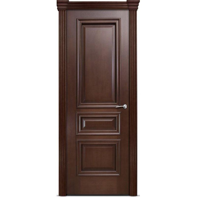 Межкомнатная дверь БРИСТОЛЬ СИТИ итальянский орех ПГ