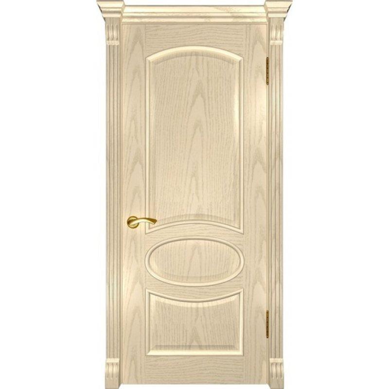 Межкомнатная дверь ГРАЦИЯ слоновая кость ПГ