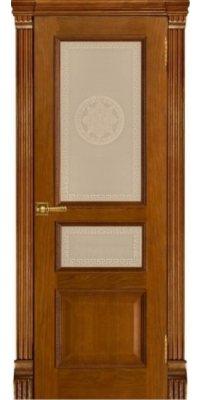 Межкомнатная дверь ГРАНД-2 patina antico ПО Версаче