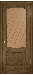 Межкомнатная дверь ЛАУРА-2 светлый мореный дуб ПО