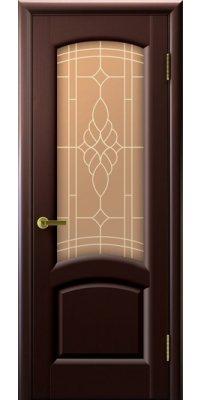Межкомнатная дверь ЛАУРА венге ПО
