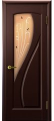Межкомнатная дверь МАРИЯ венге ПО