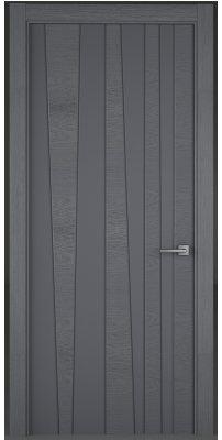 Межкомнатная дверь TREND art line, grigio 7015