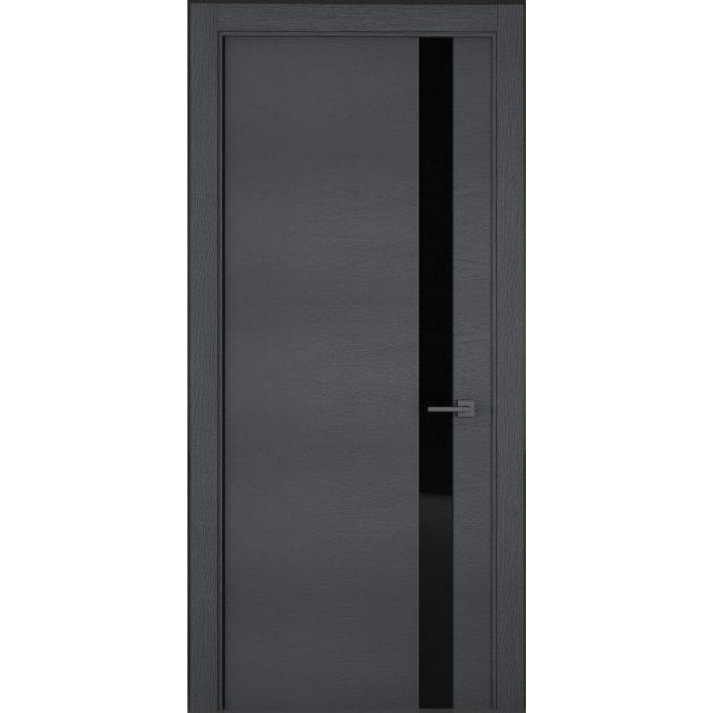 Межкомнатная дверь UNO art line, grigio 7015