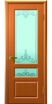 Межкомнатная дверь ВАЛЕНТИЯ 2 светлый анегри ПО