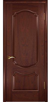Межкомнатная дверь ВЕНЕЦИЯ красное дерево ПГ
