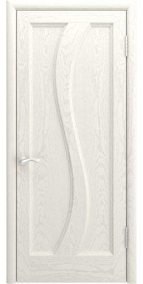 Межкомнатная дверь ЭРИДА дуб RAL 9010 ПГ