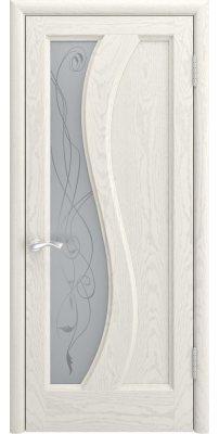 Межкомнатная дверь ЭРИДА дуб RAL 9010 ПО