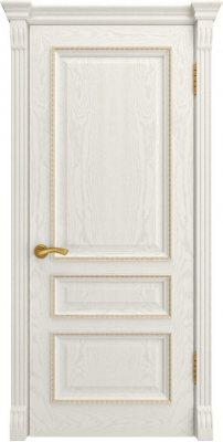Межкомнатная дверь ФЕМИДА-2 дуб RAL 9010 ПГ