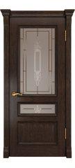 Межкомнатная дверь ФЕМИДА-2 мореный дуб ПО