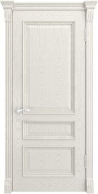 Межкомнатная дверь ГЕРА-2 дуб RAL 9010 ПГ
