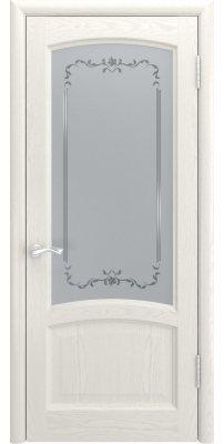 Межкомнатная дверь КЛИО дуб RAL 9010 ПО