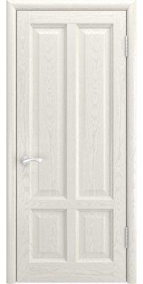 Межкомнатная дверь ТИТАН-3 дуб RAL 9010 ПГ