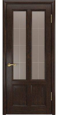 Межкомнатная дверь ТИТАН-3 мореный дуб ПО