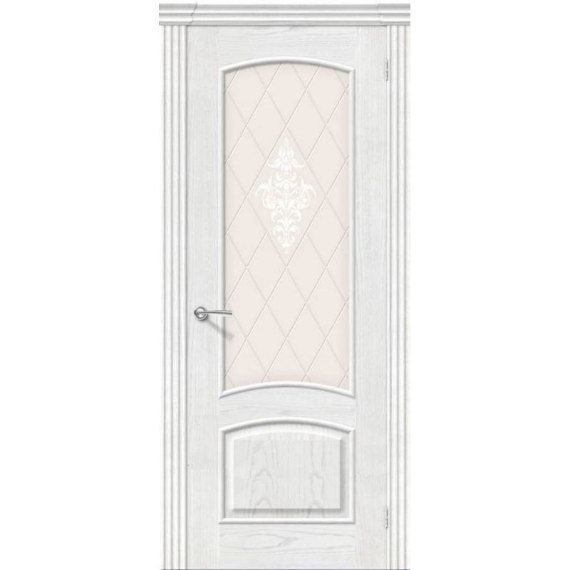 Межкомнатная дверь АМАЛЬФИ жемчуг ПО
