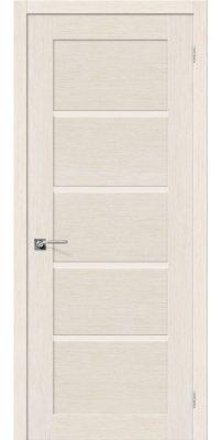 Межкомнатная дверь ЕВРО-10 беленый дуб ПО