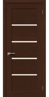 Межкомнатная дверь ЕВРО-10 венге ПО
