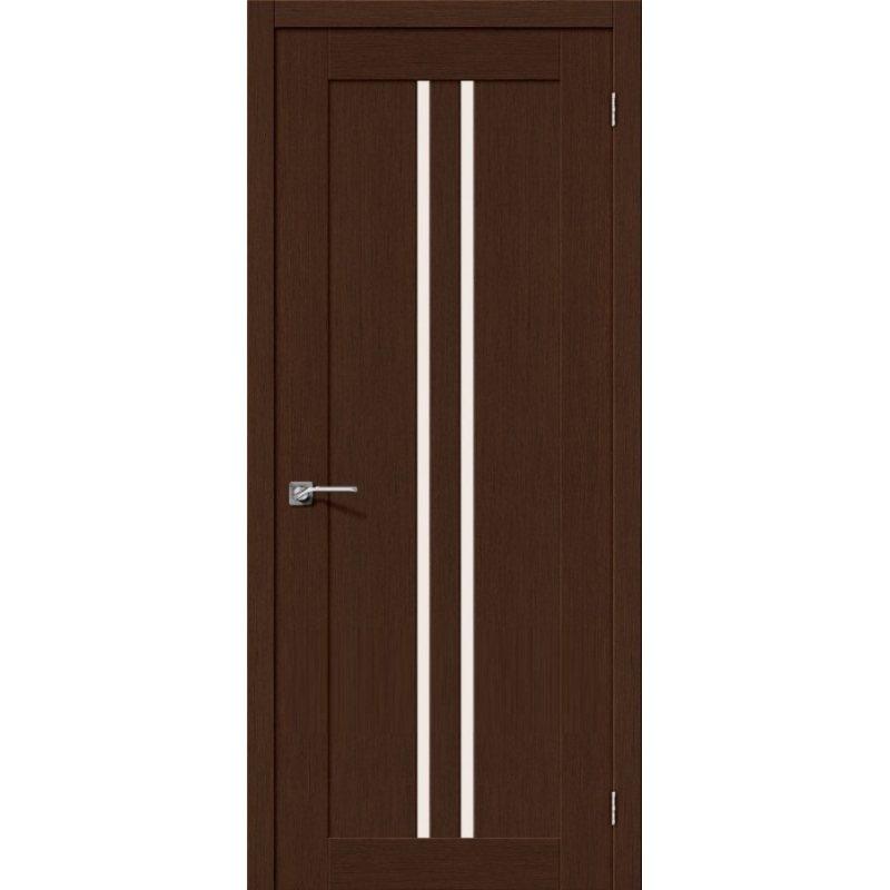 Межкомнатная дверь ЕВРО-14 венге ПО