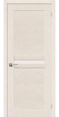 Межкомнатная дверь ЕВРО-23 беленый дуб ПО
