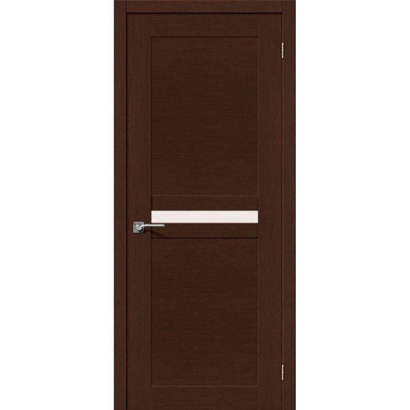 Межкомнатная дверь ЕВРО-23 венге ПО