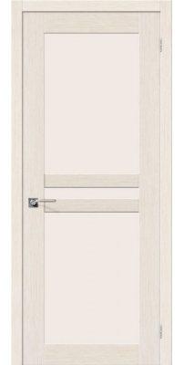 Межкомнатная дверь ЕВРО-24 беленый дуб ПО