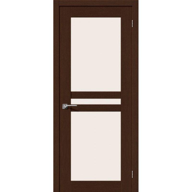 Межкомнатная дверь ЕВРО-24 венге ПО