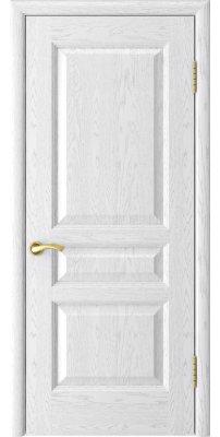 Межкомнатная дверь АТЛАНТ-2 ясень белая эмаль ПГ