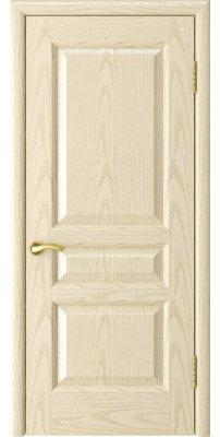 Межкомнатная дверь АТЛАНТ-2 ясень слоновая кость ПГ