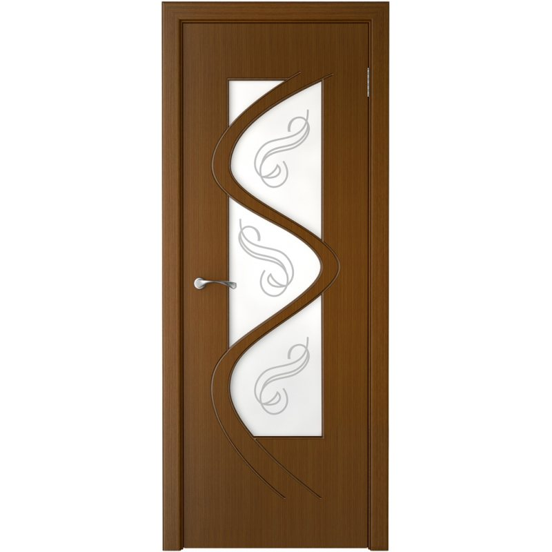 Межкомнатная дверь ВЕГА орех ПО