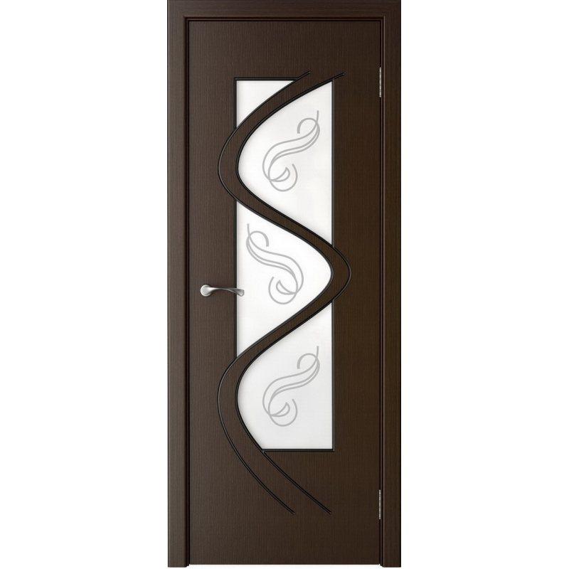 Межкомнатная дверь ВЕГА венге ПО