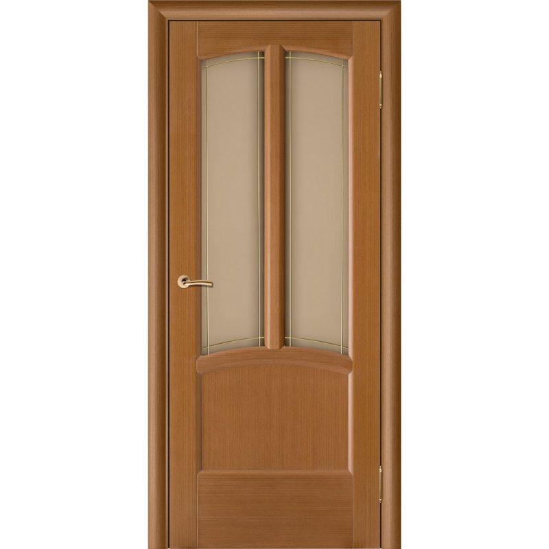 Межкомнатная дверь Ветразь Ф-11 (Орех) ПО СТ-Худ