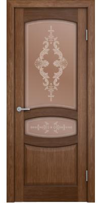Межкомнатная дверь СИЕНА орех ПО