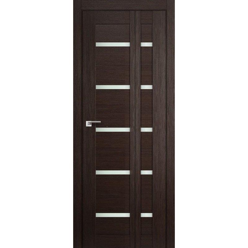 Складная дверь книжка 7X, венге мелинга