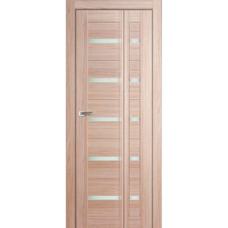 Складная дверь книжка 7X, капучино мелинга