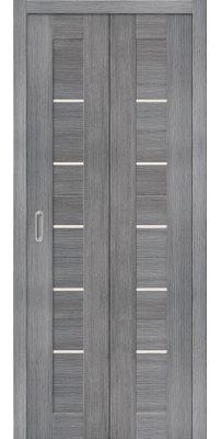 Складная дверь ПОРТА 22 grey veralinga