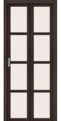 Складная дверь ТВИГГИ V4 wenge veralinga