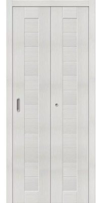 Складная дверь ПОРТА 21 bianco veralinga