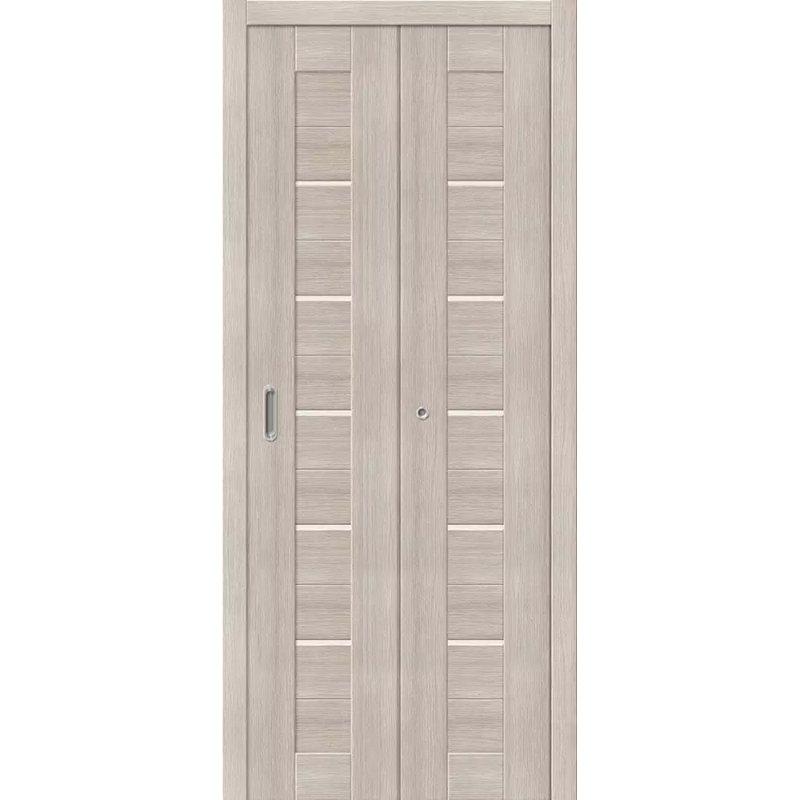 Межкомнатная складная дверь ПОРТА 22 cappuccino veralinga