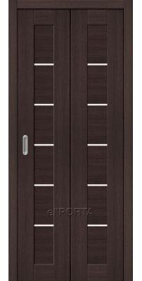 Складная дверь ПОРТА 22 wenge veralinga