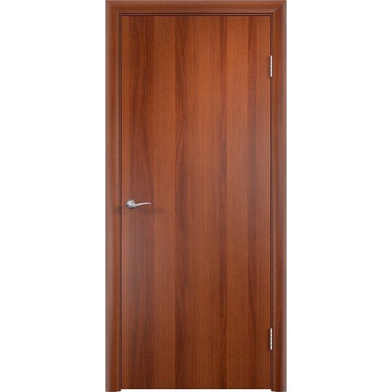 Межкомнатная дверь ГЛАДКАЯ итальянский орех ПГ