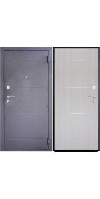 Входная дверь SD PROF-2 МОЛДИНГ дуб светлый