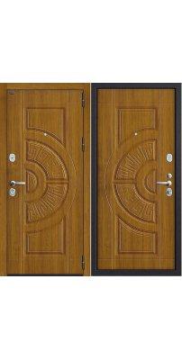 Входная дверь Р3-312 П-4 (Золотой Дуб)/П-4 (Золотой Дуб)
