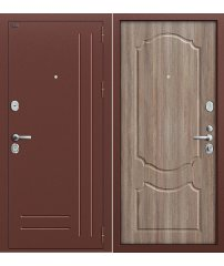 Входная дверь Р2-210 темный орех