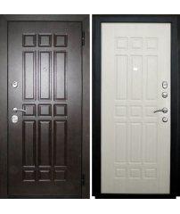 Входная дверь СЕНАТОР SD PROF-5 беленый дуб