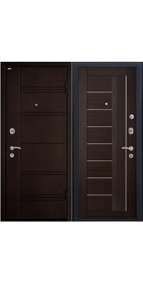 Входная дверь М17  Profildoors 17X венге\белый лак