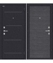 Входная дверь КОБРА Black Wood